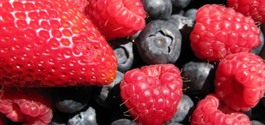 Strawberries, Raspberries, Blueberries