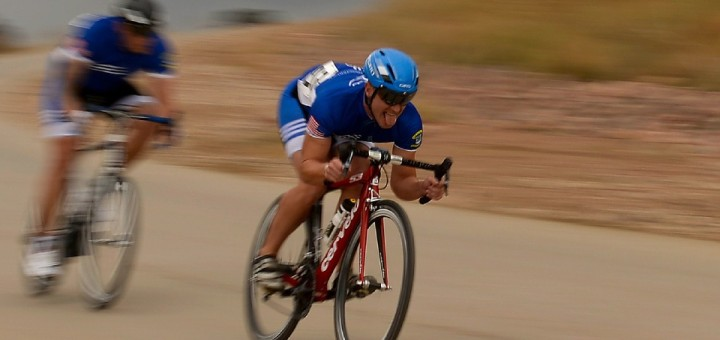 Speeding cyclist
