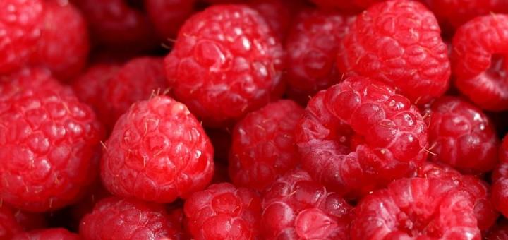close up strawberries