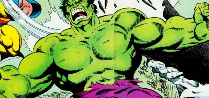 Hulk comic hero