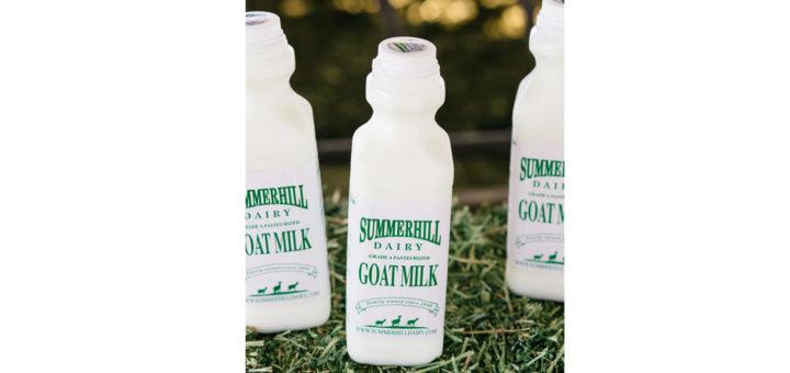 Goat Milk Bottle