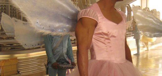 The Rock as the tooth fairy