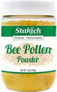 stakich bee pollen powder